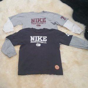 Bundle of two Nike long sleeve Tee shirts